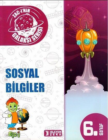 İşleyen Zeka Yayınları 6. Sınıf Galaksi Sosyal Bilgiler Soru Bankası