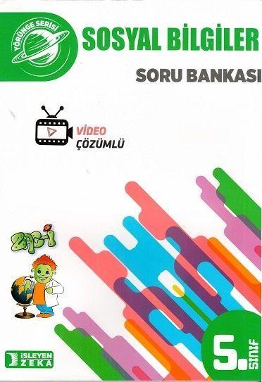 İşleyen Zeka Yayınları 5. Sınıf Yörünge Sosyal Bilgiler Soru Bankası