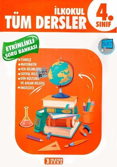 İşleyen Zeka Yayınları 4. Sınıf Tüm Dersler Etkinlikli Öğreniyorum Soru Bankası
