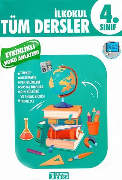 İşleyen Zeka Yayınları 4. Sınıf Tüm Dersler Etkinlikli Konu Anlatımlı