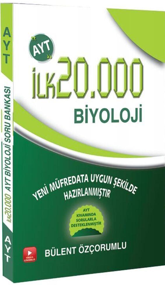 İlk5000 Yayınları AYT İlk 20.000 Biyoloji Soru Bankası