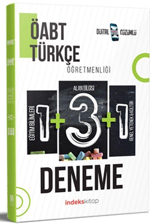 İndeks Kitap 2021 ÖABT Türkçe Öğretmenliği 5 Deneme Dijital Çözümlü