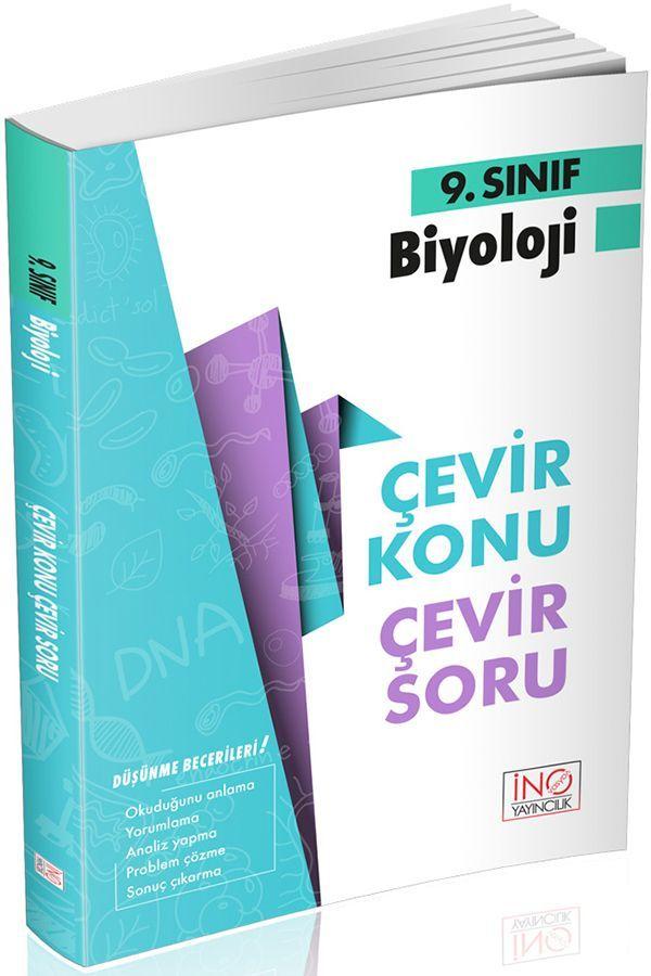 İnovasyon Yayıncılık 9. Sınıf Biyoloji Çevir Konu Çevir Soru