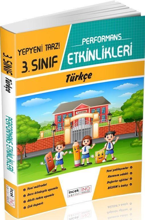İnovasyon Yayıncılık 3. Sınıf Türkçe Performans Etkinlikleri