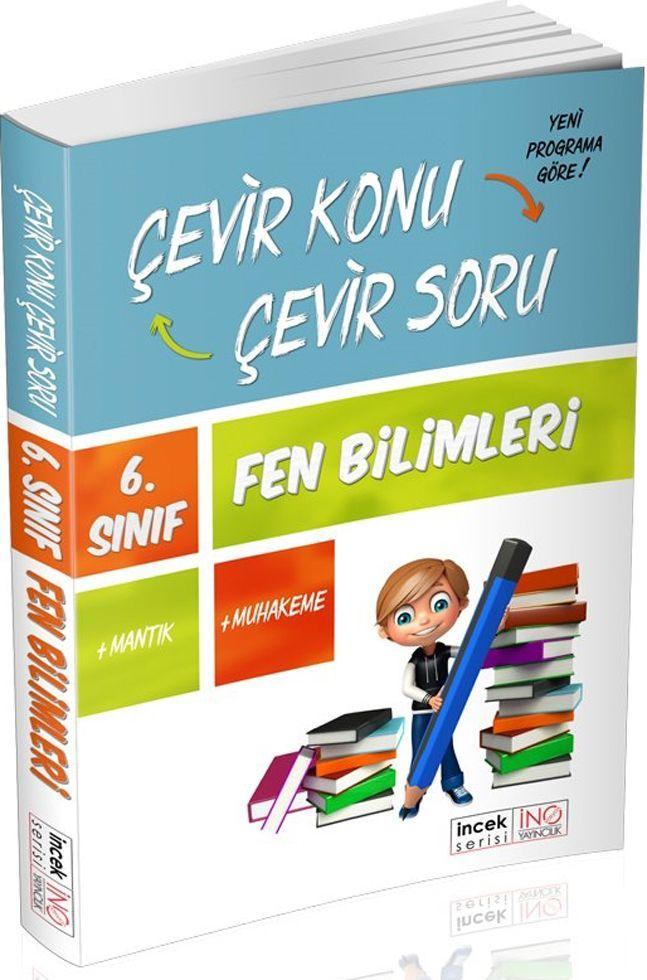 İnovasyon Yayıncılık 6. Sınıf Fen Bilimleri Çevir Konu Çevir Soru