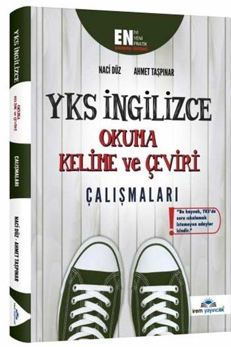 İrem Yayınları YKS İngilizce Okuma Kelime ve Çeviri Çalışmaları