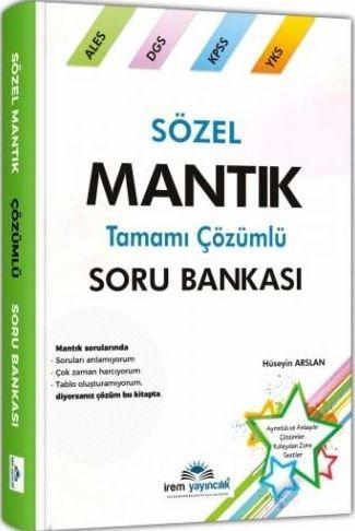 İrem Yayınları KPSS ALES DGS YKS Sözel Mantık Tamamı Çözümlü Soru Bankası
