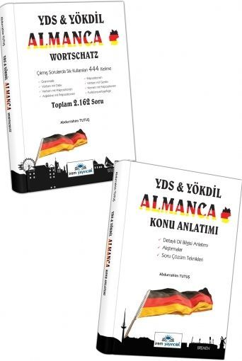 İrem Yayınları YDS YÖKDİL Almanca Konu Anlatımı