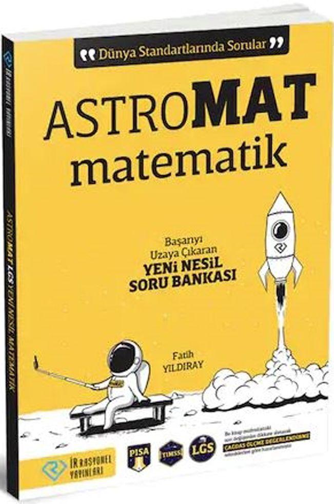 İrrasyonel Yayınları LGS AstroMat Yeni Nesil Matematik Soru Bankası