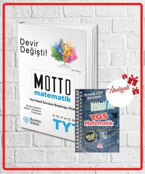 İrrasyonel Yayınları TYT Motto Matematik Başlangıç Kitabı Hediyeli