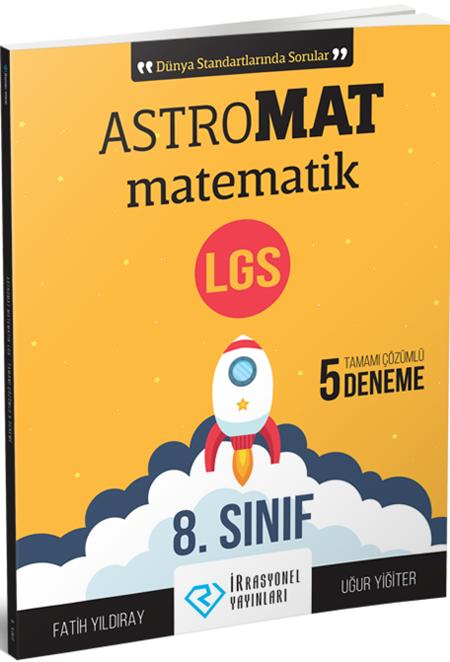 İrrasyonel Yayınları8. Sınıf AstroMAT Matematik Deneme Sınavı