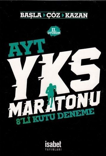 İsabet Yayınları AYT Maratonu 8 li Kutu Deneme