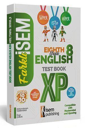 İsem Yayınları 8. Sınıf LGS İngilizce Soru Bankası
