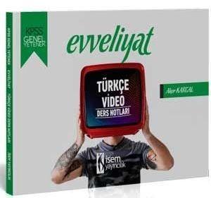 İsem Yayınları 2020 KPSS Evveliyat Genel Yetenek Türkçe Video Ders Notları