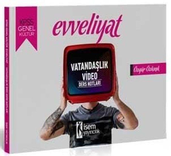 İsem Yayınları 2020 KPSS Evveliyat Vatandaşlık Video Ders Notları