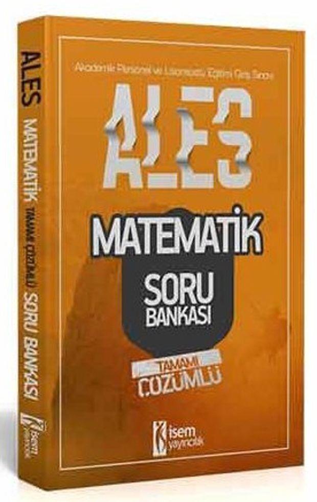 İsem Yayınları ALES Matematik Sayısal Yetenek Tamamı Çözümlü Soru Bankası