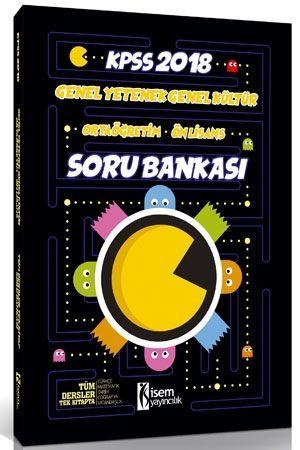 İsem Yayınları 2018 KPSS Ortaöğretim Önlisans Tamamı Çözümlü Soru Bankası Tek Kitap