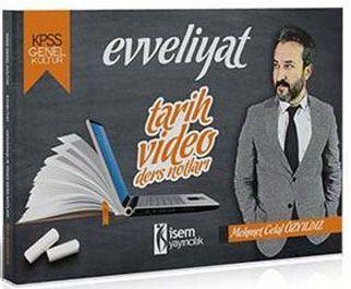 İsem Yayınları 2019 KPSS Tarih Video Ders Notları