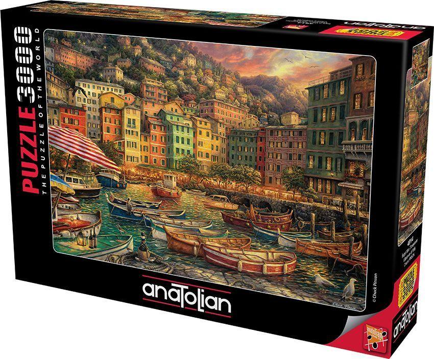 İtalya\'dan Titreşimler  Vibrance Of Italy  3000 Parça Puzzle - Yapboz