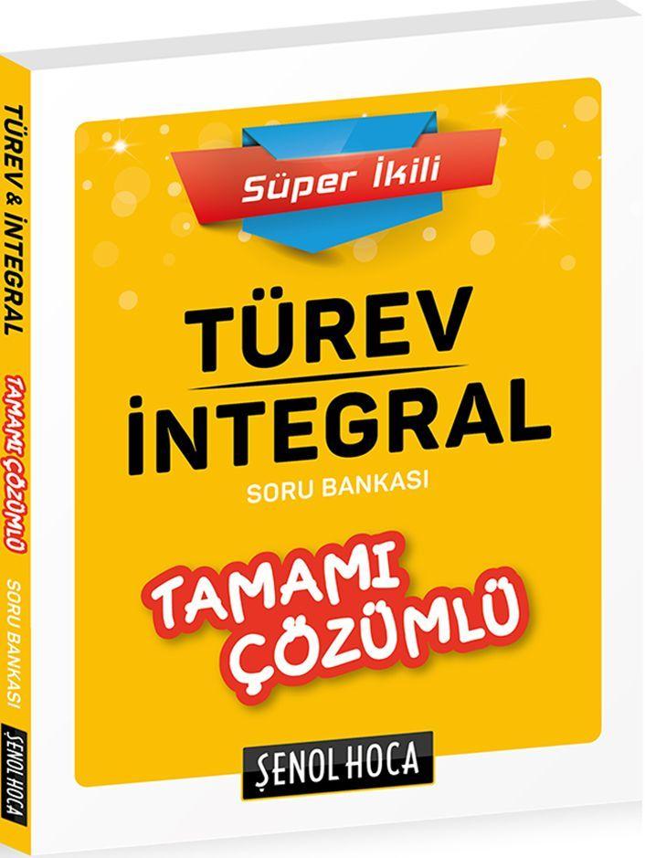 Şenol Hoca Yayınları Türev İntegral Süper İkili Tamamı Çözümlü Soru Bankası