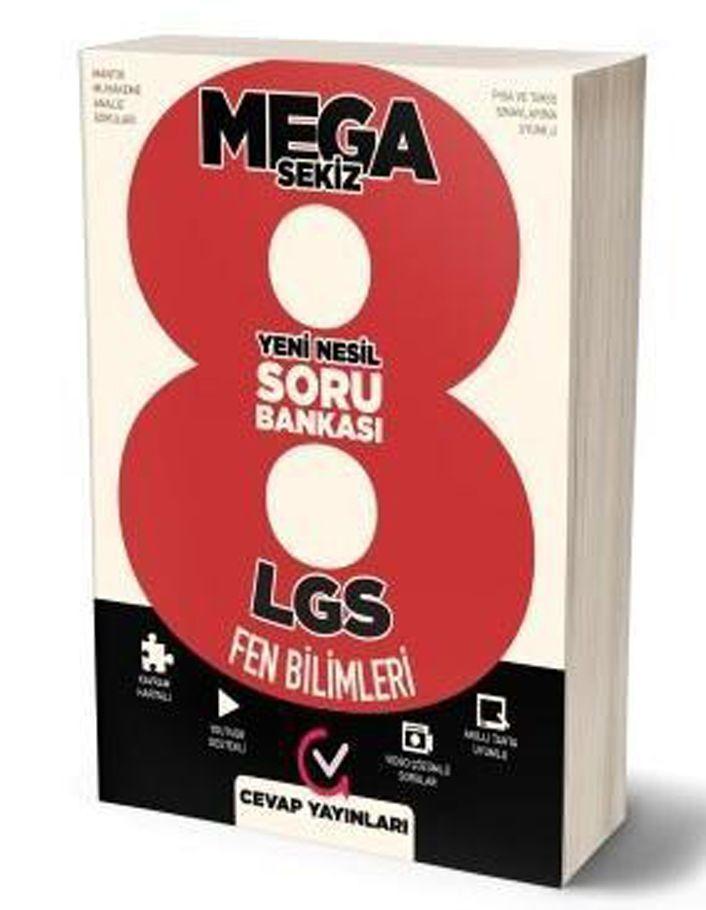 Cevap Yayınları 8. Sınıf LGS Fen Bilimleri MEGA Soru Bankası