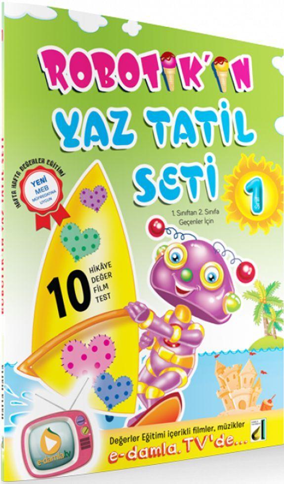 Damla Yayınları 1. Sınıf Robotikin Yaz Tatil Seti