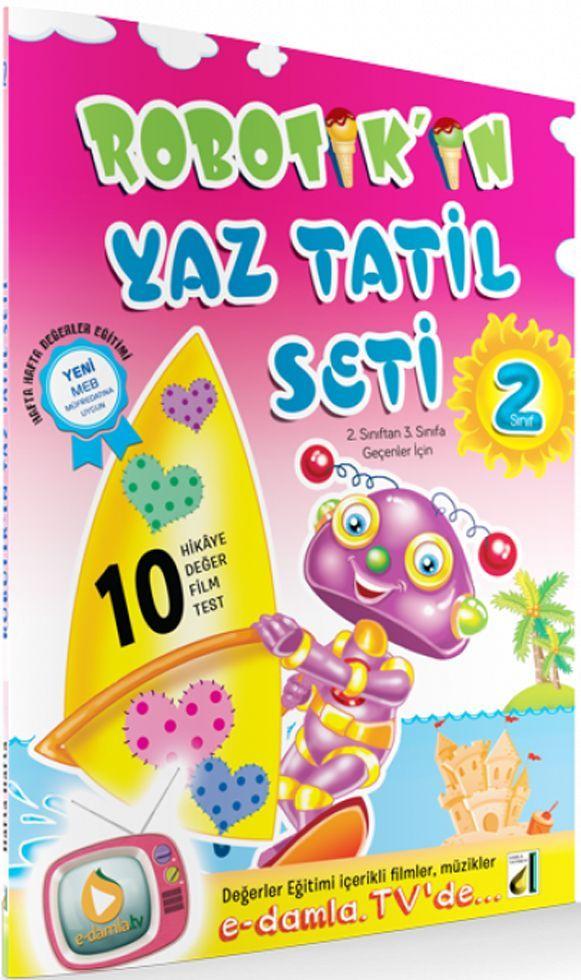 Damla Yayınları 2. Sınıf Robotikin Yaz Tatil Seti