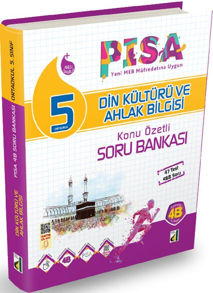Damla Yayınları 5. Sınıf PISA Din Kültürü ve Ahlak Bilgisi Konu Özetli Soru Bankası