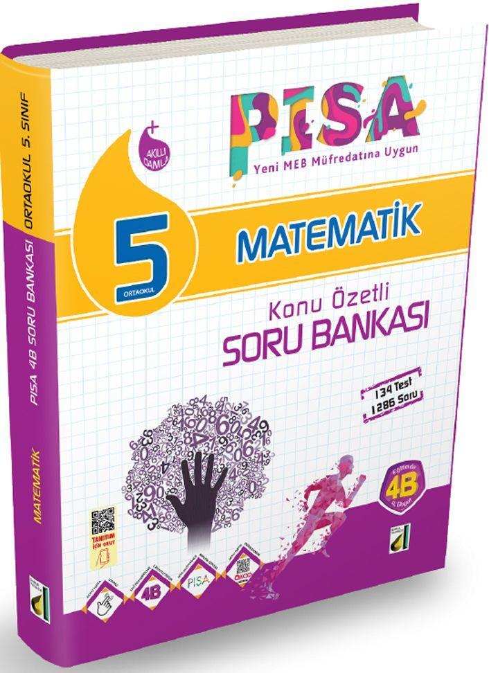 Damla Yayınları 5. Sınıf PISA Matematik Konu Özetli Soru Bankası