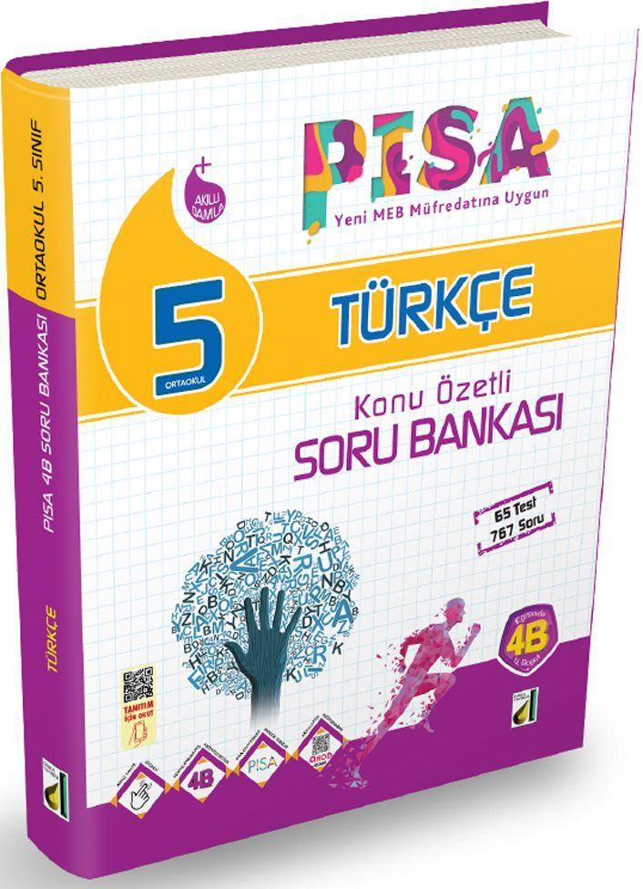 Damla Yayınları 5. Sınıf PISA Türkçe Konu Özetli Soru Bankası