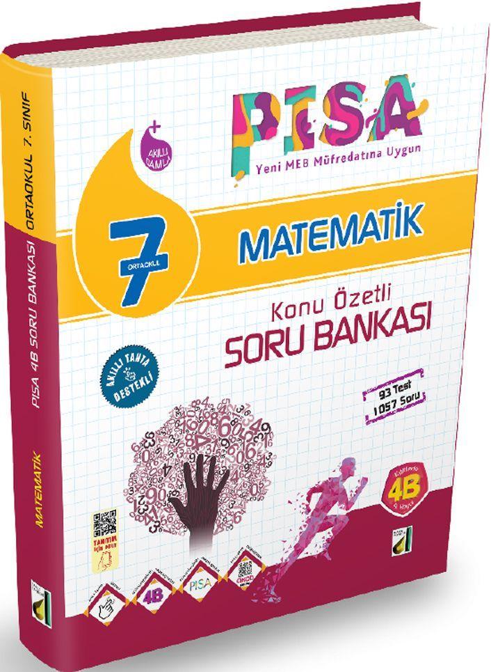 Damla Yayınları 7. Sınıf PISA Matematik Konu Özetli Soru Bankası