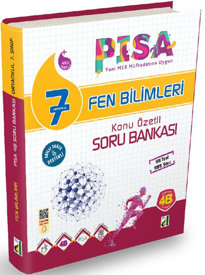 Damla Yayınları 7. Sınıf PISA Fen Bilimleri Konu Özetli Soru Bankası