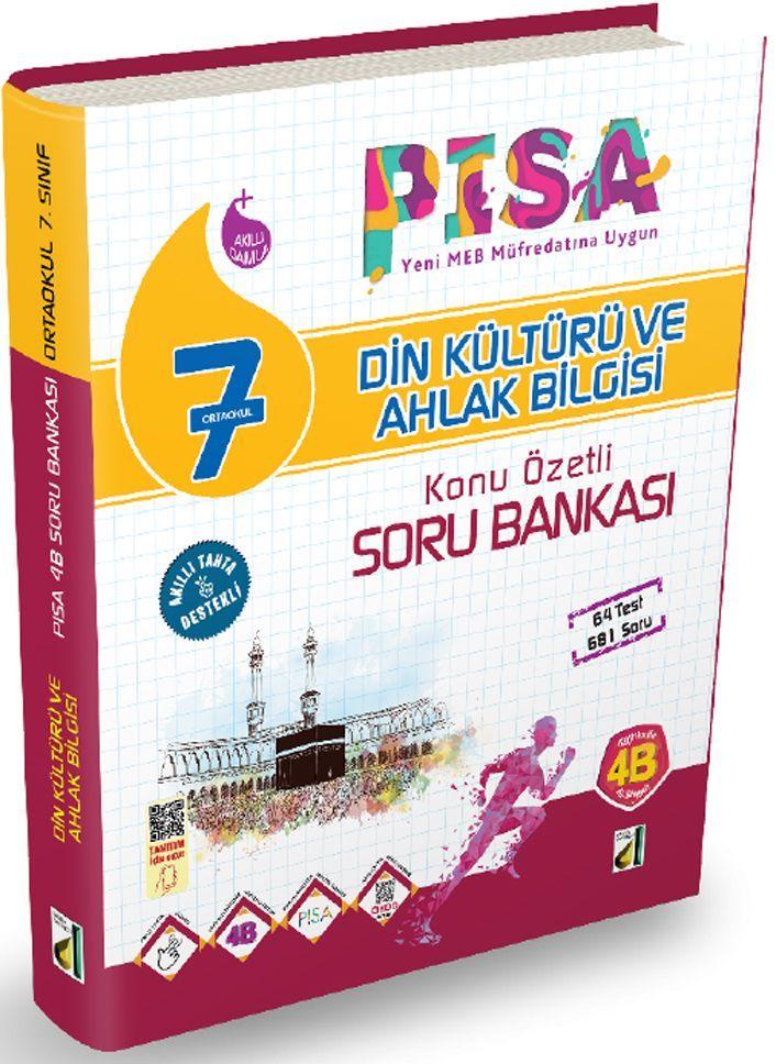 Damla Yayınları 7. Sınıf PISA Din Kültürü ve Ahlak Bilgisi Konu Özetli Soru Bankası