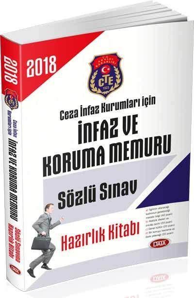 Data Yayınları 2018 Ceza İnfaz Kurumları İçin İnfaz ve Koruma Memuru Sözlü Sınav Hazırlık Kitabı