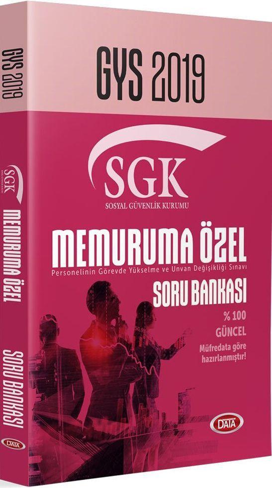 Data Yayınları 2019 GYS SGK Memuruma Özel Soru Bankası