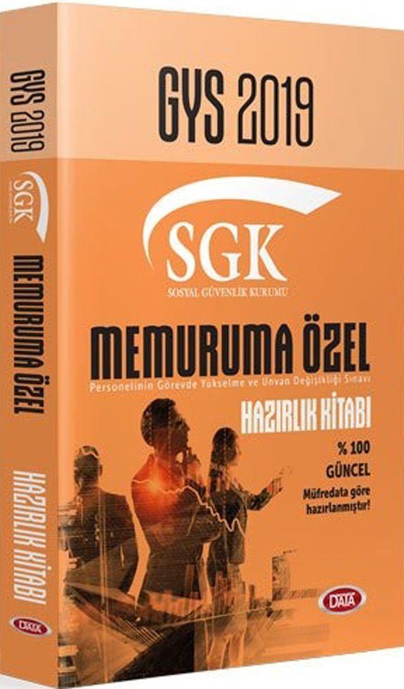 Data Yayınları 2019 GYS SGK Memuruma Özel Hazırlık Kitabı