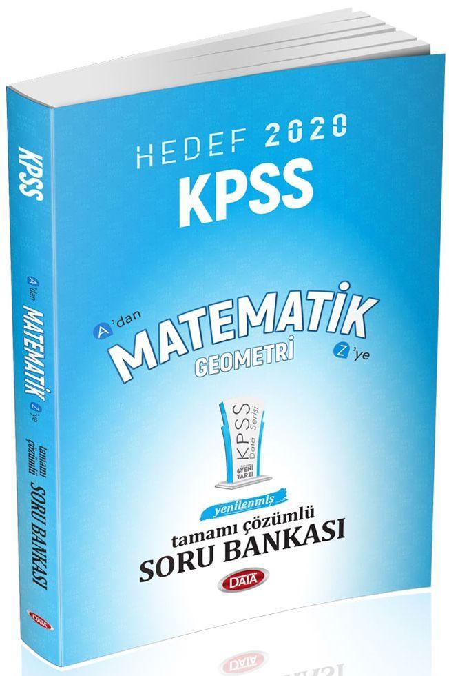 Data Yayınları 2020 KPSS Matematik Geometri Soru Bankası
