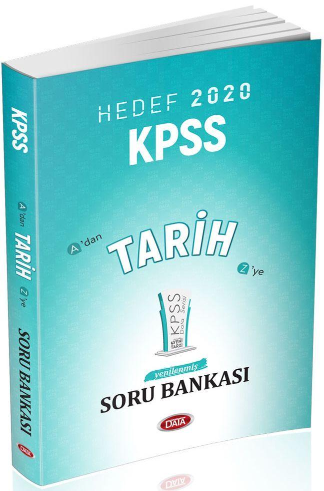 Data Yayınları 2020 KPSS Tarih Soru Bankası