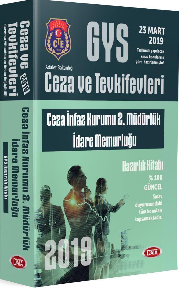 Data Yayınları GYS Ceza ve Tevkifevleri Ceza İnfaz Kurumu 2. Müdürlük İdare Memurluğu Hazırlık Kitabı