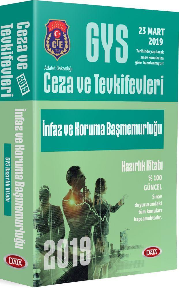 Data Yayınları GYS Ceza ve Tevkifevleri İnfaz ve Koruma Başmemurluğu Hazırlık Kitabı
