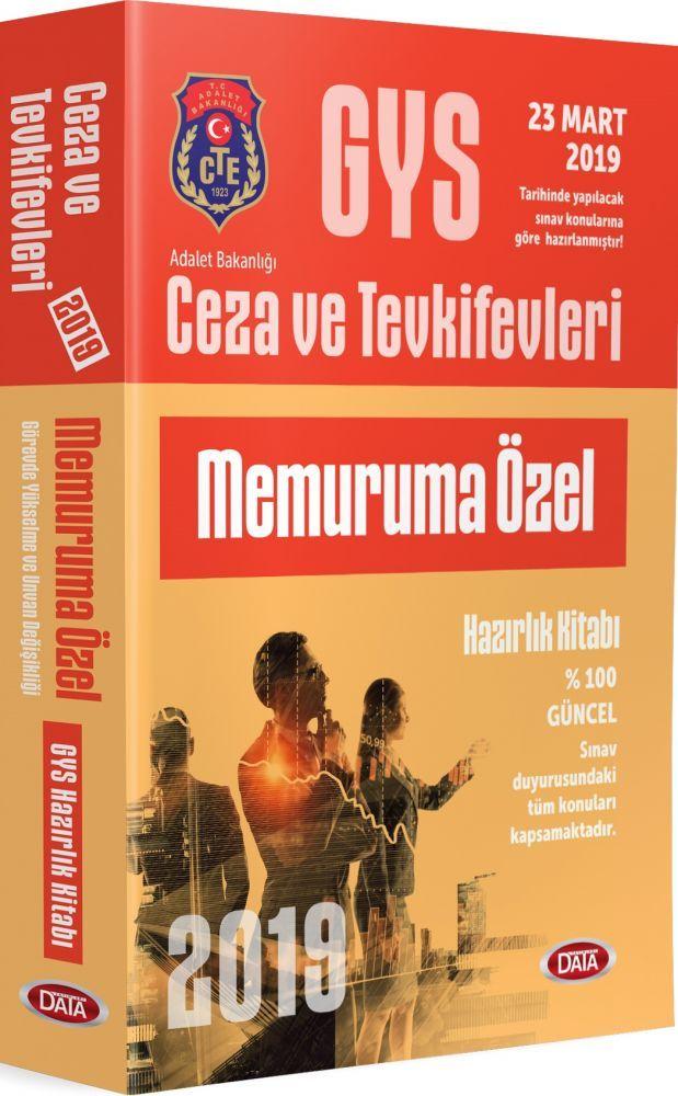 Data Yayınları GYS Ceza ve Tevkifevleri Memuruma Özel Hazırlık Kitabı