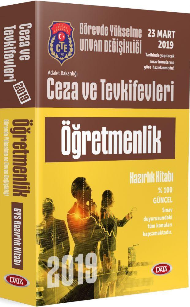 Data Yayınları GYS Ceza ve Tevkifevleri Öğretmenlik Hazırlık Kitabı