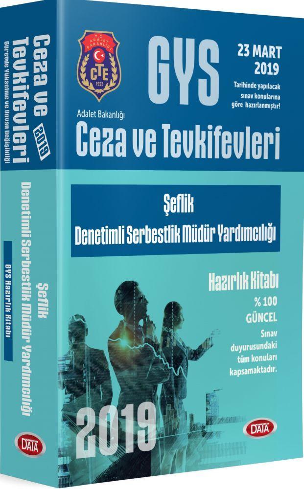 Data Yayınları GYS Ceza ve Tevkifevleri Şeflik Denetimli Serbestlik Müdür Yardımcılığı Hazırlık Kitabı