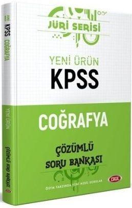 Data Yayınları KPSS Coğrafya Jüri Serisi Çözümlü Soru Bankası