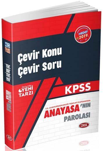 Data Yayınları KPSS Anayasa Parolası Çevir Konu Çevir Soru