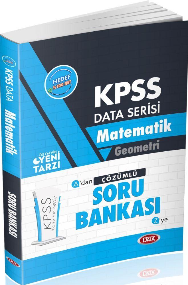 Data Yayınları KPSS Matematik Geometri Çözümlü Soru Bankası
