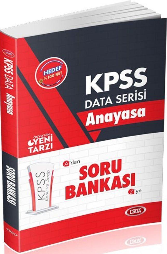 Data Yayınları KPSS Anayasa Soru Bankası Adan Zye