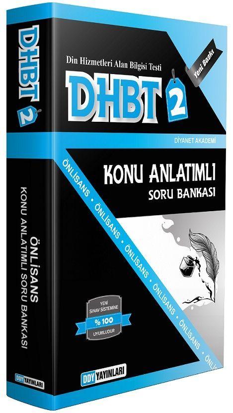 DDY Yayınları DHBT 2 Önlisans Konu Anlatımlı Soru Bankası