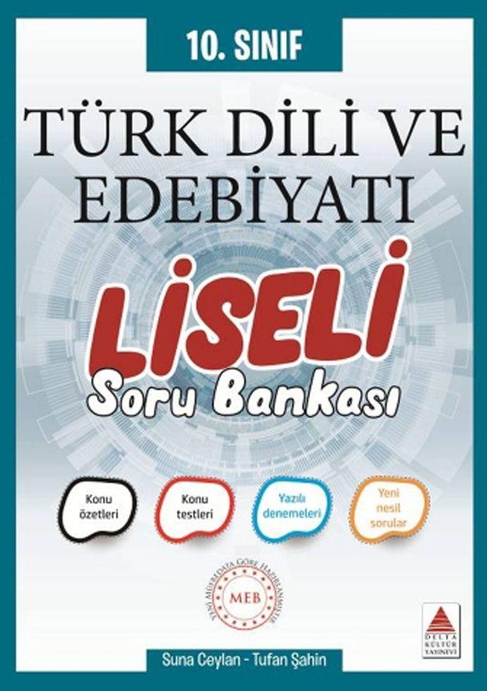 Delta Kültür 10. Sınıf Türk Dili ve Edebiyatı Liseli Soru Bankası