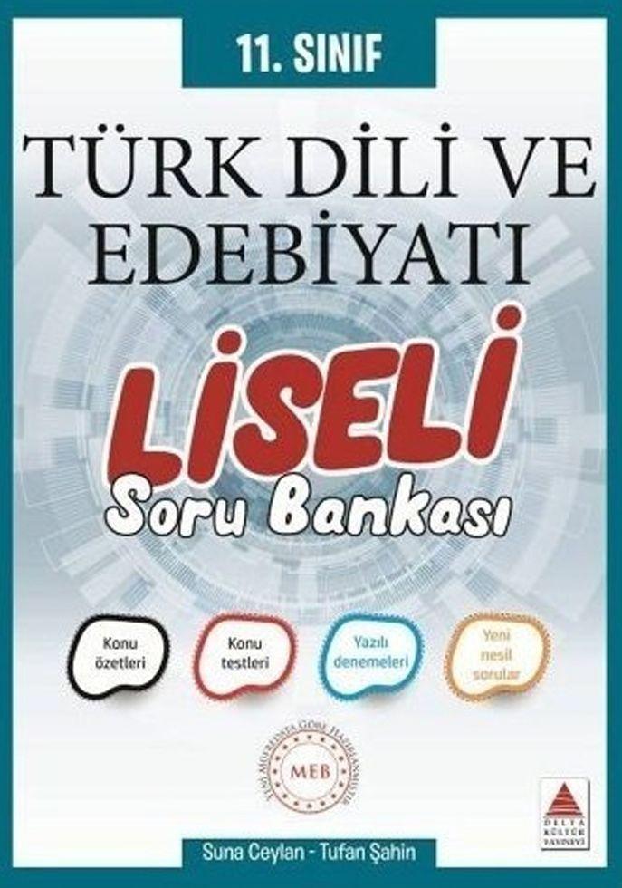 Delta Kültür 11. Sınıf Türk Dili ve Edebiyatı Liseli Soru Bankası